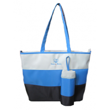 Dream Baby blue stripe nappy bag