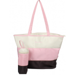 Dream Baby pink stripe nappy bag
