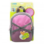 Brica Pink Safety Harness Backpack