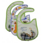 Carter's water resistant bibs for boys - 3PK