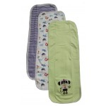 Baby boy burp towels - 3PK
