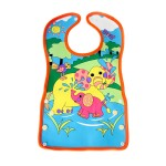 Elephant wonderland waterproof bib