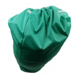 Large green drawstring wetbag