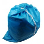 Large sky blue drawstring wetbag