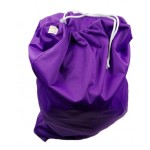 Large purple drawstring wetbag