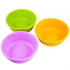 Re-Play Bowls 3 pack - Purple / Green / Sunny Yellow