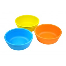 Re-Play Bowls 3 pack - Sky Blue / Orange / Yellow