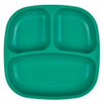 Re-Play Divided Plate - Teal