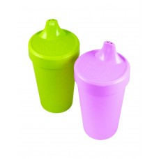 Re-Play Sippy Cups 2 pack - Purple / Green