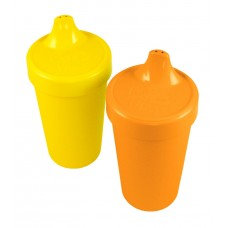 Re-Play Sippy Cups 2 pack - Orange / Yellow