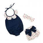 Navy blue sailors 3 piece set
