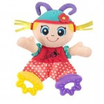 Dolly soft toy teether