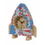 Tiger Tribe Paper Moon Alarm Clock - Rocket