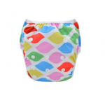 Multi-coloured baby swim nappy
